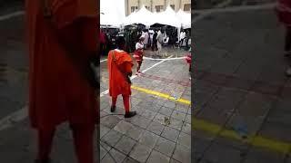 Dr agbakpan olita on stage one corner dance