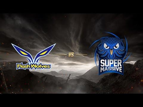 Flash Wolves ( FW ) vs SuperMassive eSports ( SUP ) 1. Maç   MSI 2017 Ön Eleme 2. Tur