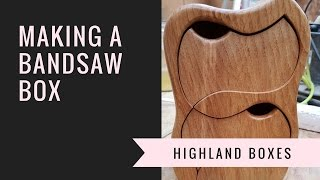 making the Twister 2 bandsaw box