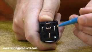 Wiring Products - How to Wire an Automotive Relay