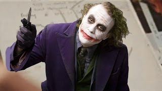 Heath Ledger's Creepy Joker Diary Revealed