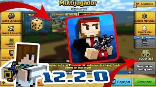 PIXEL GUN 3D NUEVA ACTUALIZACION 12.2.0 | NUEVA MODALIDAD Y MAPAS!
