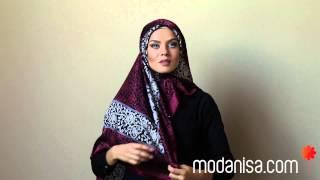 Modanisa.com - Büyük Eşarp Bağlama Modeli