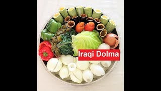 Iraqi Dolma /Chaldean/Assyrian/ الدولمة العراقية / Stuffed Vegetables || #Recipe205CFF/ #cffrecipes