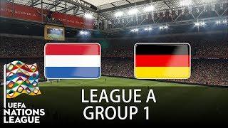 Netherlands vs Germany - Johan Cruijff ArenA - 2018-19 UEFA Nations League - PES 2019