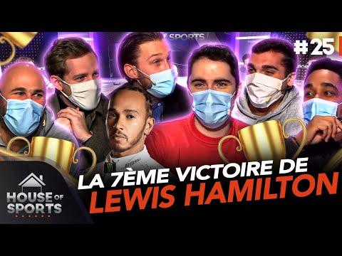 Lewis Hamilton retour sur sa 7ème victoire du mondial 🏎️🏆 House of Sports 25