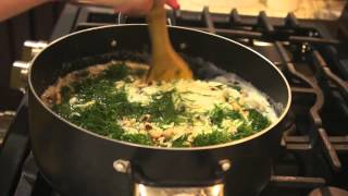 Persian Home Cooking, Sheved Lobiya Recipe, Fresh Dill & Black Eyed Peas Rice, Lobiya Polo