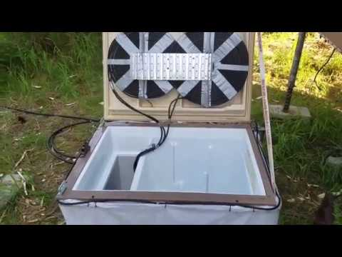 Xxx Mp4 Homemade OFF GRID Refrigerator Uses Two Different Cooling Processes To Keep My Food Fresh 3gp Sex