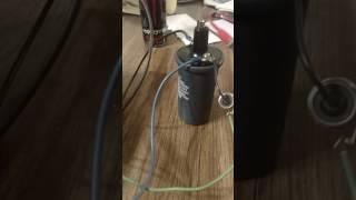 Homemade electric fence energiser