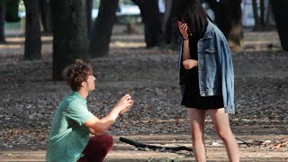 Proposing to Girls Prank in Japan!