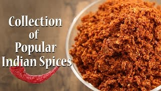 10 Easy To Make Indian Spices   Homemade Masala   Ruchkar Mejwani   Recipes by Archana in Marathi
