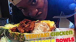 Teriyaki Chicken Pineapple Bowls  | #CWK