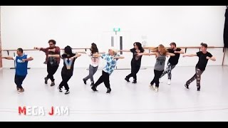 'Uptown Funk' Mark Ronson ft. Bruno Mars choreography by Jasmine Meakin (Mega Jam)