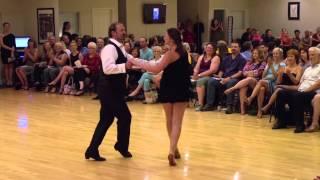 East Coast Swing Performance at 2015 June Showcase (Ultimate Ballroom in Memphis)
