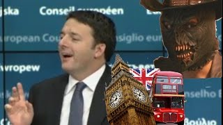 Matteo Renzi e l'inglese. 2° Ep.: Il Ritorno del dedede e l'olzo bicoz