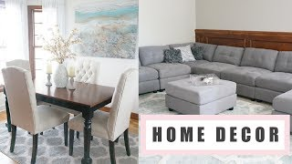 Home Decor Haul + Updates   BBW, Well Woven, HomeGoods, TJ Maxx