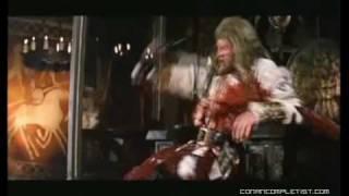 Conan the barbarian cut scene : King Osric death