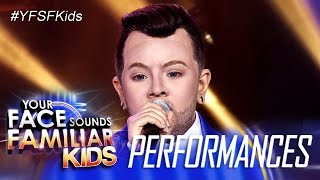 Your Face Sounds Familiar Kids: Elha Nympha as Sam Smith - Stay With Me