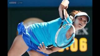 SANIA MIRZA Oops Funny And Embarrassing Moments In Tennis