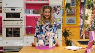 Angie et les recettes de violetta - Gâteaux sucettes en forme de cœur