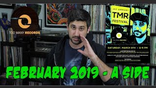 New Album Releases | Incoming Vinyl: February A-Side 2019