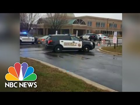 Xxx Mp4 Police On Scene At School Shooting In Great Mills Maryland NBC News 3gp Sex