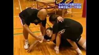 Intense Volleyball Training for Libero in Japan