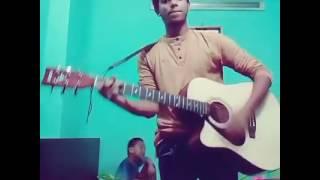 Acoustic cover a bangla song by shahariar Rakib