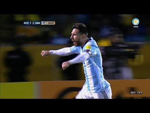 Xxx Mp4 Ecuador Vs Argentina 1 3 GOLES De MESSI Eliminatorias A Rusia 2018 3gp Sex