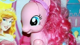 Bajka - Aurora i Pinkie Pie odnajdują Mańka! - Play-Doh & Disney Princess & MLP