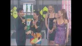 Gina G @ Sula Miranda Show (Live in Brazil 1997) Ti Amo & Interview