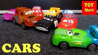 CARS Film Deutsch Spielzeug Autos Kinderautos Kids Cars 2 Toys Lightning Mcqueen Sheriff Hook