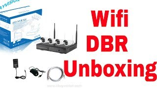 Wifi NVR kit full unboxing and Reviews