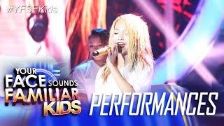 Your Face Sounds Familiar Kids: AC Bonifacio as Sandara Park - Kiss