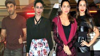 Kareena Kapoor Birthday Party 2016 - Ranbir Kapoor, Karishma Kapoor, Malaika Arora Khan
