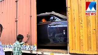 Rolls-Royce Dawn seized in valayar check post for cheating tax department | Manorama News