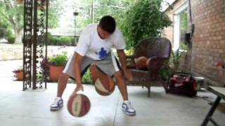 2 Ball Dribbling Drills/ Advanced Ball Handling Workout (Part 1)