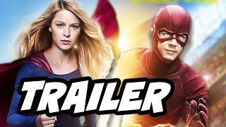The Flash Season 2 Supergirl Crossover Trailer Breakdown