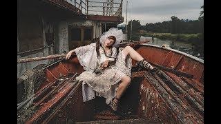 The Phantom Bride- Portrait Shoot on an Abandoned Ferry Boat w/ the A7Rii using off camera flash
