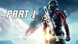 Mass Effect Andromeda Walkthrough  Part 1 - PATHFINDER (PC Ultra Let's Play Commentary)