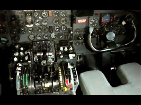 KLM DC-9 Cockpit