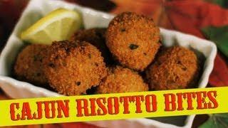 Cajun Risotto Bites Recipe  - The Vegan Zombie