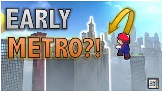 Skipping METRO KINGDOM?! - Super Mario Odyssey Hacks