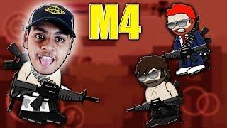 Mini Militia M4 MOD LOBBY FUNNY GAMEPLAY! 100th DA2 Video Special | Doodle Army 2: Mini Militia #100
