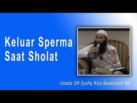 Tanya Jawab Ustad DR Syafiq Riza Basalamah MA : Keluar Sperma Saat Sholat
