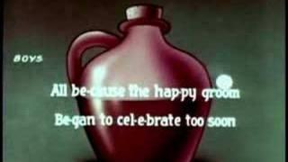 Little Brown Jug  (Cartoon Sing along)