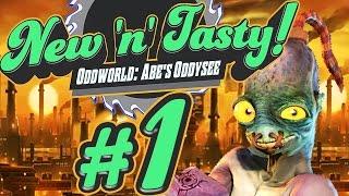 ODDWORLD: NEW 'N' TASTY # 01 ★ Abe in High Definition! [HD]