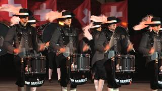 Top Secret Drum Corps @ Royal Edinburgh Military Tattoo 2015!