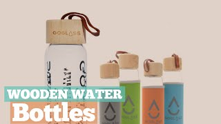 Wooden Water Bottles // 12 Wooden Water Bottles You've Got A See!