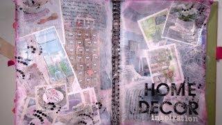 Cómo hacer un collage con hojas de revista. TUTORIAL